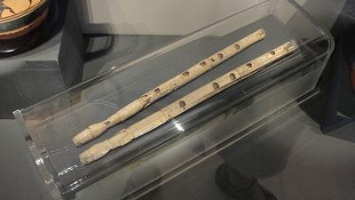 Flauta doble o doble aulos