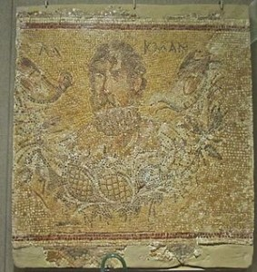 Mosaic d'Alcman. Gerasa, Jordània. Font: Wikimedia Commons