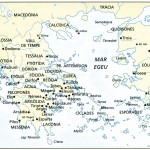 Mapa de la Grècia antiga