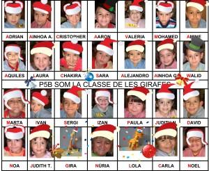 BON NADAL LA CLASSE DE LES GIRAFES