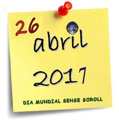 2POSIT DIA MUNDIAL SENSE SOROLLabril 2017