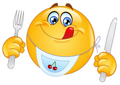 emoticon menjar