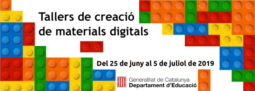 Taller de creació de materials digitals