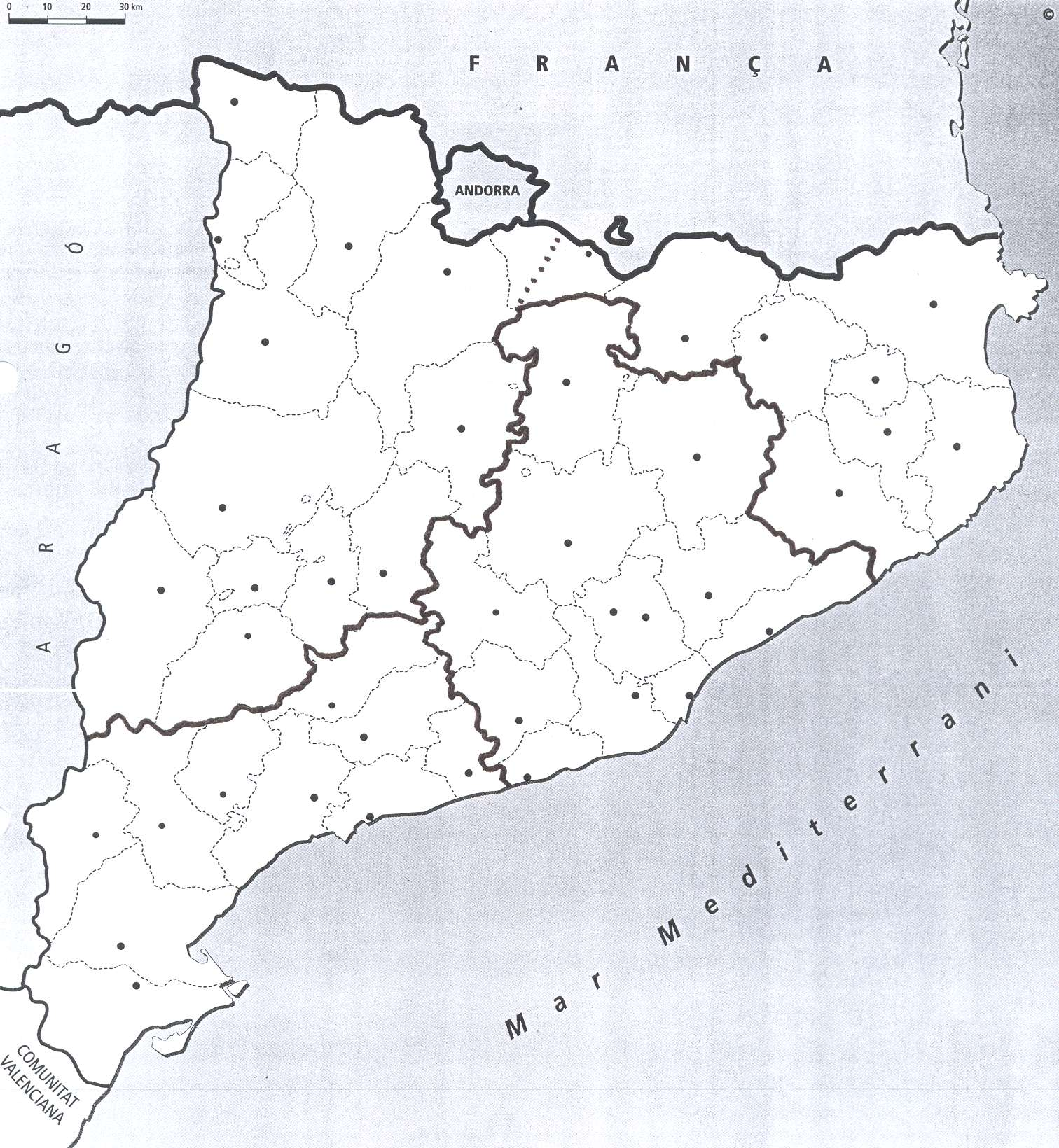 Resultado de imagen de catalunya comarcal  mut