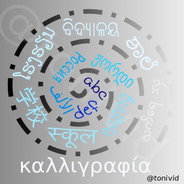 alfabets, caligrafia