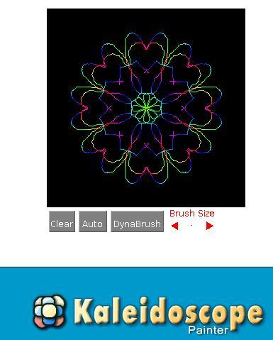 Mandala kaleidoscopi