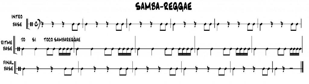 Base Samba-reggae