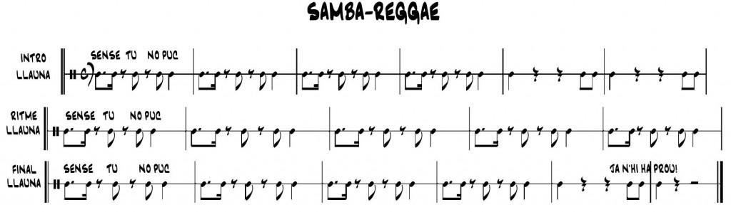 LLauna Samba-reggae