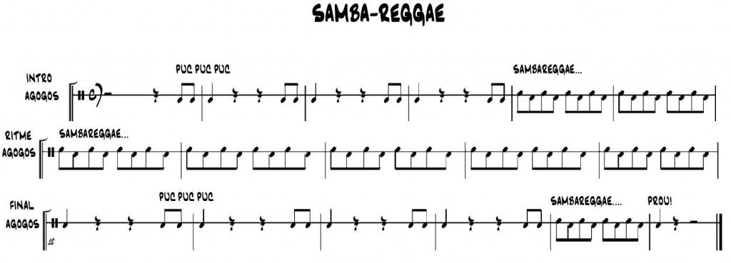 SAMBA-REGGAE Agogos