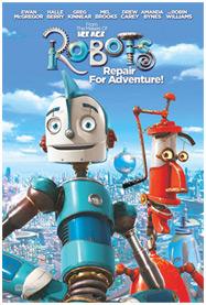 Caràtula pel·lícula Robots