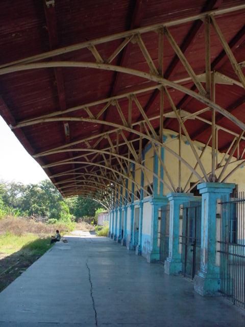 Sostre d'una estació de tren