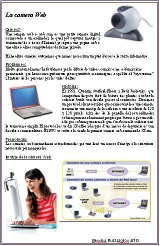 Informe Tècnic webcam