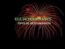 ELS DETERMINANTS