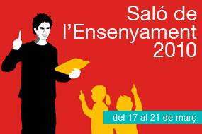 logo del Saló d'Ensenyament 2010