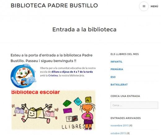 Captura bloc biblio web