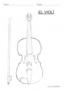 fitxa pintar violi