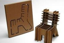 disseny moble de cartró