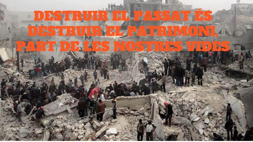 Guerra de Síria i patrimoni.