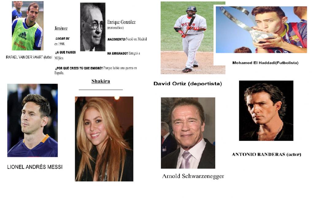 Personatges famosos