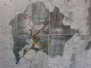 mapa recorreguts