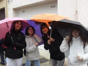 nenes paraigües