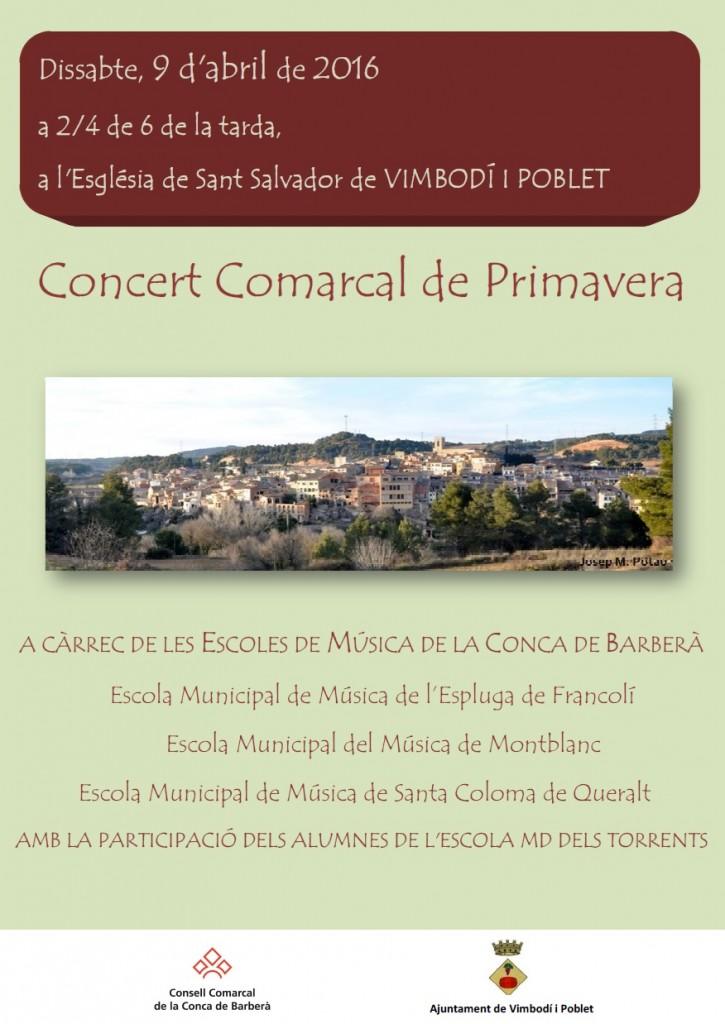 cartell concert primavera vimbodí 16
