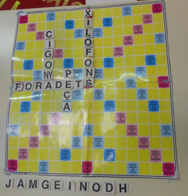 Scrabble en el cine